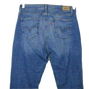 Levis 529 Curvy Boot Cut Denim Jeans Size 10 SHORT